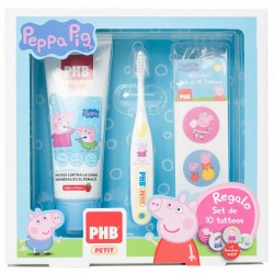 Comprar PHB Pack Peppa Pig Gel Dentífrico Petit 75ml. + Cepillo + Regalo