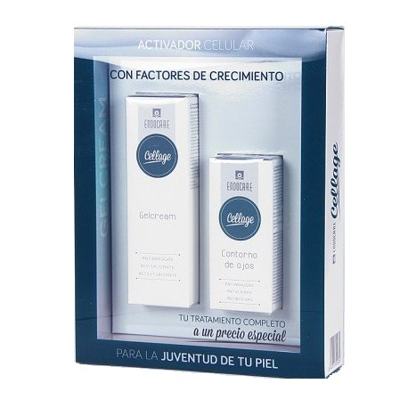 Endocare Cellage Gel Crema 50ml + Contorno de Ojos 15ml Pack Especial
