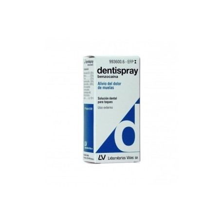 Dentispray 50 mg/ml Spray Bucal 5 ml