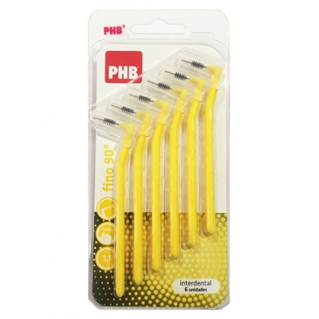 PHB Interdental Angular Fino 6uds.