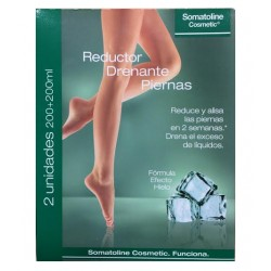 Somatoline Cosmetic Reductor Drenante Piernas 2x200ml