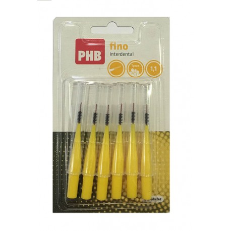 PHB Interdental Fino 6uds