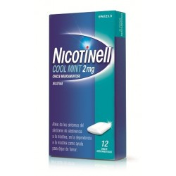 Comprar Nicotinell Cool Mint 2 mg 12 Chicles