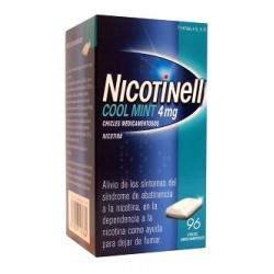 Comprar Nicotinell Cool Mint 4 mg 96 Chicles