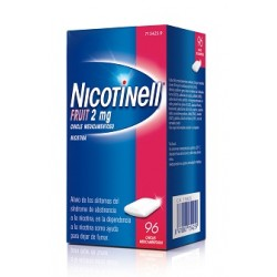 Comprar Nicotinell Fruit 2 mg 96 Chicles