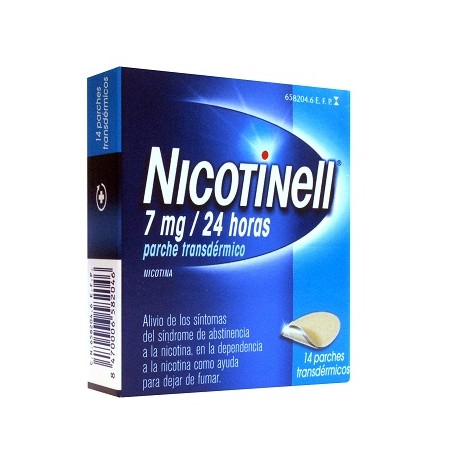 Nicotinell 7mg/24h 14 Parches