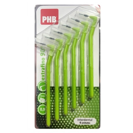 PHB Interdental Angular Extrafino 6uds