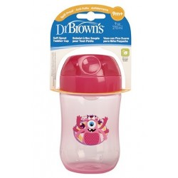 Dr. Brown's Vaso con Boquilla Suave +9m 270ml