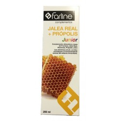 Comprar Farline Jalea Real + Própolis Jarabe Junior 250ml