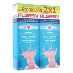 Comprar Algasiv Colutorio Triple Acción Duplo 250ml + 250ml