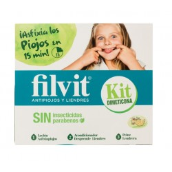 Filvit Kit Dimeticona Antipiojos y Liendres