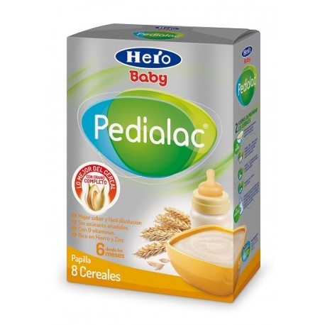 Hero Baby Pedialac 8 Cereales 500gr