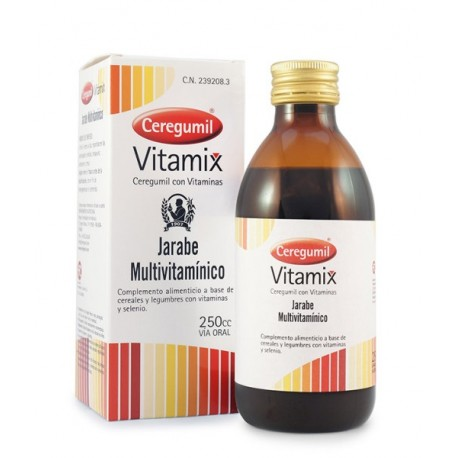 CEREGUMIL VITAMIX JARABE 200 ML.