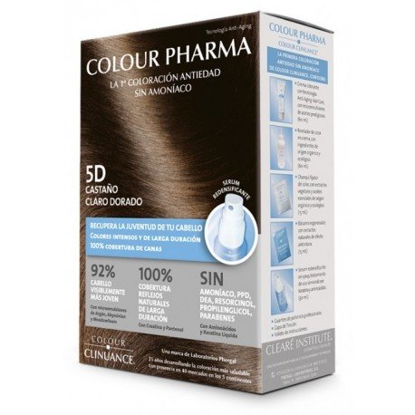 COLOUR CLINUANCE PHARMA 5D CASTA�O CLARO