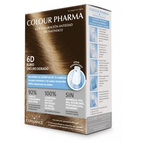 COLOUR CLINUANCE PHARMA 6D RUBIO OSCURO