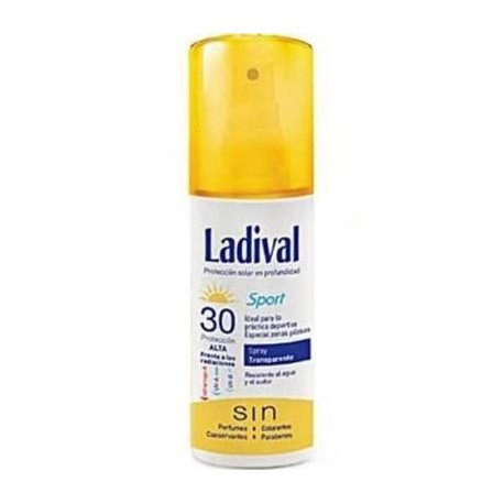 LADIVAL SPORT SPRAY TRANSP FPS30 150 ML