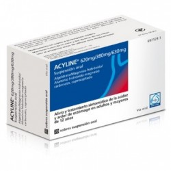 Comprar Acyline 20 sobres Suspensión Oral 10ml