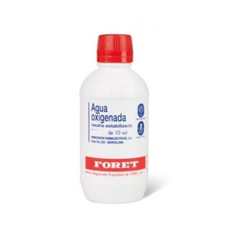 Agua Oxigenada Neutra Estabilizada Foret 30mg/ml Solución Tópica 1000ml