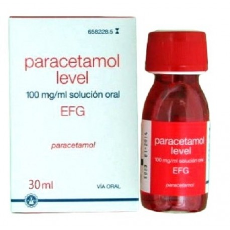 Paracetamol Level EFG 100mg/ml Solución Oral 30ml