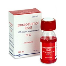 Comprar Paracetamol Level EFG 100mg/ml Solución Oral 60ml
