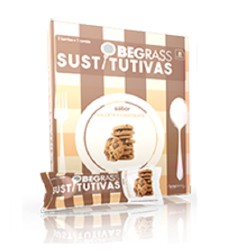 Comprar Obegrass Barrita Sustitutiva 30g Sabor Chocolate y Galleta