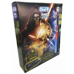 Comprar Oral B Cepillo Eléctrico Infantil Stages Power Star Wars + Estuche Regalo