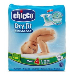 Comprar Chicco Pañales Dry Fit Maxi Talla 4 8-18 kg 19uds