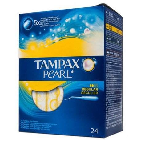 Tampax Pearl Regular 24uds.