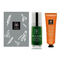 Comprar Apivita Set Luminosidad Serum Bee Radiant 50ml + Mascarilla Naranja 50ml