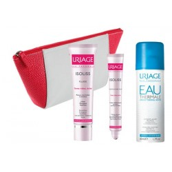 Comprar Uriage Isoliss Kit Fluido 40ml + Isoliss Contorno de Ojos 15ml+ Agua Termal de 50ml+ Neceser Regalo