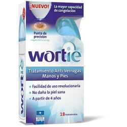 Comprar Wortie Antiverrugas Manos y Pies 50 ml