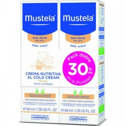 Comprar Mustela Cold Cream Duplo 2X40ml