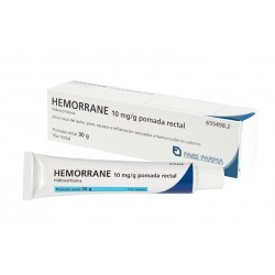 Hemorrane 10mg/g Pomada Rectal 30g
