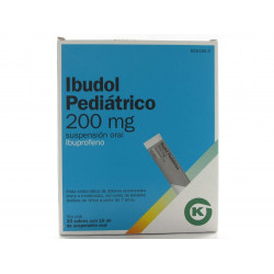 Comprar Ibudol Pediátrico 200mg Sobres Suspensión Oral 10ml