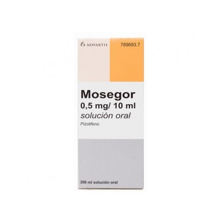 MOSEGOR (0.25 MG/5 ML SOLUCION ORAL 200 ML)