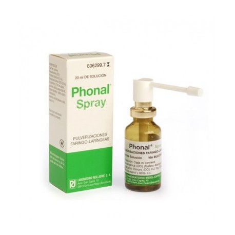 PHONAL SPRAY (AEROSOL TOPICO SOLUCION 20 ML)
