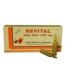 Comprar Revital Jalea Real 1000mg 20 viales