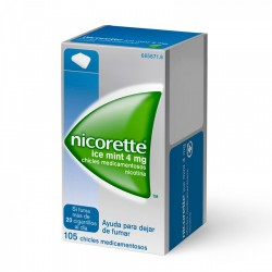 NICORETTE ICE MINT (4 MG 105 CHICLES)
