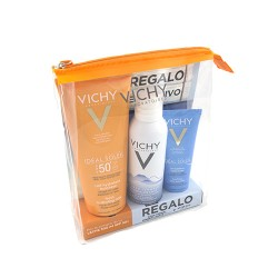 Comprar Vichy Ideal Soleil Leche SPF50 300ml + Agua Termal Mineralizante 150ml+ After sun 100ml