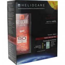 Heliocare Pack Gel SPF90 50ml + Endocare-C Peel 3 Uni + 7 Ampollas Oil Free