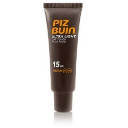 Comprar Piz Buin Ultra Light Face Cream Fluido SPF 15 50ml