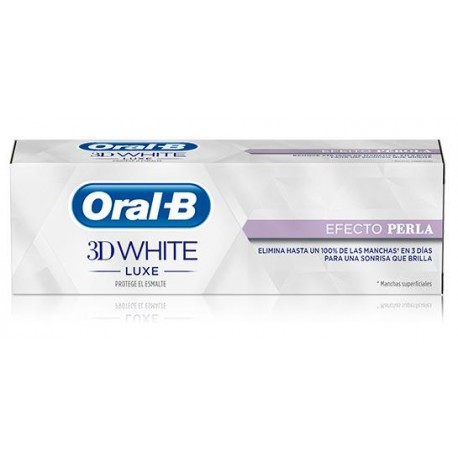 Oral B 3D White Efecto Perla 75ml