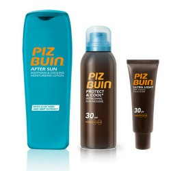 Pack Solar Piz Buin SPF 30 Facial + Corporal + After Sun