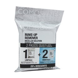 Comprar Comodynes Pack Pieles Normales Make-Up Remover 20uds + Essence 8uds