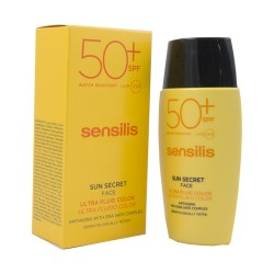 Comprar Sensilis Sun Secret Ultra Fluido Color SPF 50 40ml