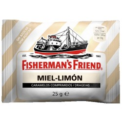 Fisherman's Friend Caramelo Miel-Limón 25g 12uds