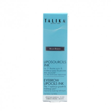 Talika Lipocils Cejas Color Marrón Oscuro 0.8ml
