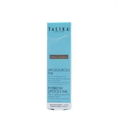 Talika Lipocils Cejas Color Castaño 0.8ml