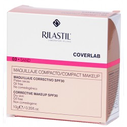Rilastil Coverlab Maquillaje Compacto Para Pieles Secas 10g