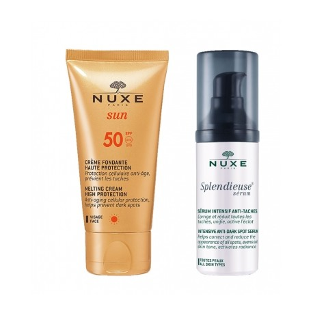 Nuxe Pack Serum Splendieuse Anti-manchas + Crema Solar SPF50+